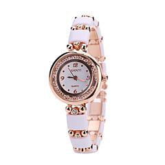 Women's Fashion Watch Wrist watch Quartz Alloy Band Luxury White