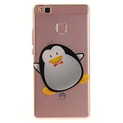 Varten huawei p9 lite p8 lite tpu materiaali imd prosessi sarjakuva pingviini kuvio puhelin tapauksessa y6ii nauttia 5 kunnia 8