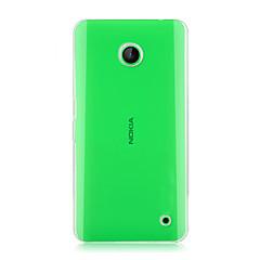 Na Etui Nokii Przezroczyste Kılıf Etui na tył Kılıf Jeden kolor Twarde PC Nokia Nokia Lumia 630