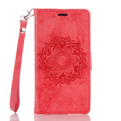 For WIKO Lenny3 Lenny2 Case Cover Mandala Flower Pattern Embossed Double-sided Series PUP Phone Leather Case Phone Case
