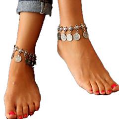 Kadın Ayak bileziği/Bilezikler alaşım İfade Takıları Moda Avrupa Mücevher Uyumluluk Günlük