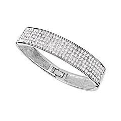 Women's Bangles Crystal Alloy Fashion Personalized Jewelry Jewelry 1pc