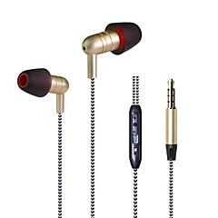 Neutral produkt KDK-202 I Øret-Hovedtelefoner (I Ørekanalen)ForMedieafspiller/Tablet Mobiltelefon ComputerWithMed Mikrofon DJ FM Radio