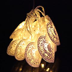 Valentijnsdag 10 led koel wit metalen liefde hart partij huwelijksfeest snaar fairy licht
