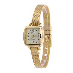 Women's Fashion Watch Wrist watch Quartz Alloy Band Silver Gold