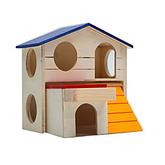Rodents Hutches Wood Blue