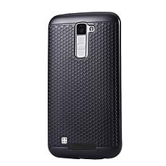 Varten Pölynkestävä Etui Takakuori Etui Yksivärinen Kova PC varten LG LG K10 LG K8 LG K5 LG G5 LG V20 LG X Power