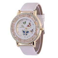 Women's Fashion Watch Wrist watch Quartz PU Band Black White Red Beige