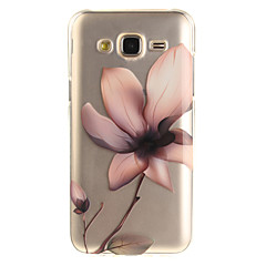For Samsung Galaxy J5 J5(2016) J3 J3(2016) G530 Case Cover Magnolia Pattern IMD Process Painted TPU Material Phone Case