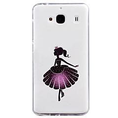 Voor Mi hoesje Patroon hoesje Achterkantje hoesje Sexy dame Zacht TPU voor Xiaomi