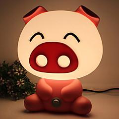 довольно мило свиньи мультфильм животных привело ночь свет комната ребенка спать светлая спальня настольная лампа ночник лучше всего