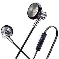 Original SUR MJ1636 Hight Quality Metal In Ear Headphones In-ear Earphone HD HiFi Headset Good Bass For IPhone XIAOMI Samsung
