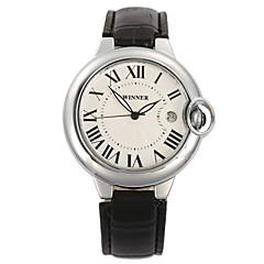 Męskie Sportowy Do sukni/garnituru Modny Zegarek na nadgarstek zegarek mechaniczny Nakręcanie automatyczne Kalendarz szwajcarski