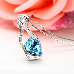 Μενταγιόν Κρυστάλλινο Πετράδι Βασικό Μοναδικό Μοντέρνα κοσμήματα πολυτελείας Σκούρο μπλε Κοσμήματα Καθημερινά 1pc