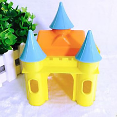 Rodents Hutches Plastic Blue Yellow