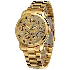 Hombre Mujer Unisex Reloj Deportivo Reloj de Vestir Reloj de Moda Reloj de Pulsera El reloj mecánico Calendario Cuerda Automática Aleación