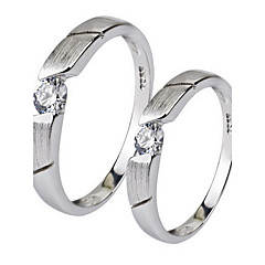 Ring Non Stone Party Daily Jewelry Sterling Silver Women Ring 1pc,14 19 21 Silver