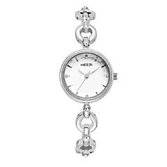 KEZZI Women's Fashion Watch Bracelet Watch Quartz Japanese Quartz Alloy Band Casual Elegant Silver Rose Gold Strap Watch