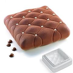 Molde para hornear para la torta para chocolate Silicona De Armar 3D Alta calidad Antiadherente Ecológico