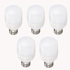 9w e26 / e27 led corn lyser t 12 smd 2835 850-900 lm varm hvid cool hvid dekorative ac 220-240 v 5 stk