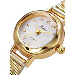 Exquisite Fashion Small Gold Nouveau Riche Quartz Watch Strap Watch