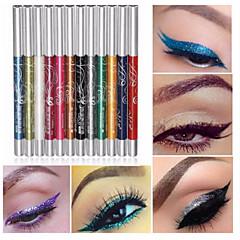 12 färger professionella make up ögonskugga läppenna ögonbryn glitter ögonskugga eyeliner penna penna kosmetiska makeup set kit verktyg