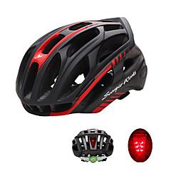 Sportok Uniszex Bike Sisak 36 Szellőzőnyílás Kerékpározás Kerékpározás Nagy: 59-63cm; PC EPS Fehér Zöld Piros Fekete Kék Others Ezüst