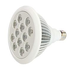 24W E27 LED-vækstlampe 12 Højeffekts-LED 800 lm Rød Blå V 1 stk.