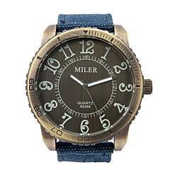 Мужской Модные часы Кварцевый Материал Группа С подвесками Повседневная Синий Красный Серый