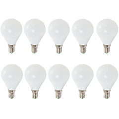 7W E14 E26/E27 LED Globe Bulbs G45 6 SMD 2835 680 lm Warm White Cool White Decorative AC 220-240 V 10 pcs