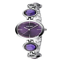 Women's Fashion Watch Bracelet Watch Quartz Alloy Band Elegant Silver Brand