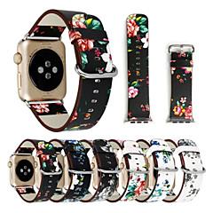 Horloge band voor appelwatch serie 1 2 38mm 42mm klassieke gesp echte lederen vervanging band