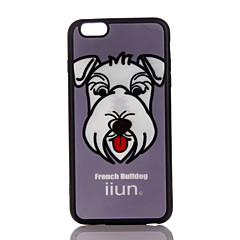 For Ultra-thin Case Back Cover Case Dog Soft TPU for Apple iPhone 7 Plus iPhone 7 iPhone 6s Plus/6 Plus iPhone 6s/6
