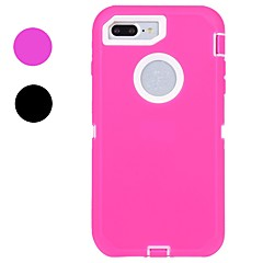 Til iPhone X iPhone 8 iPhone 8 Plus Etuier Stødsikker Vandafvisende Heldækkende Etui Helfarve Blødt Gummi for Apple iPhone X iPhone 8