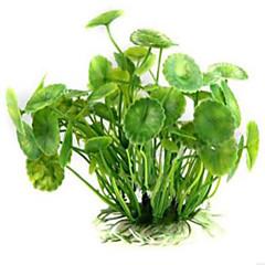 Aquarium Decoration Waterplant Non-toxic & Tasteless Plastic Green