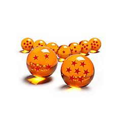Anime Toimintahahmot Innoittamana Dragon Ball Cosplay Anime Cosplay-Tarvikkeet kuvio Oranssi PVC Uros / Naaras