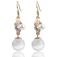 Damskie Kolczyki na sztyft sztuczna Opal Natura Modny Europejski Perłowy Opal Stop Biżuteria Biżuteria Na Codzienny