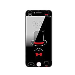 Apple iPhone 7 4,7 ochraniacz ekranu hartowanego szkła z miękką krawędź pełne pokrycie Ekran przodu ochraniacz kreskówki wzór