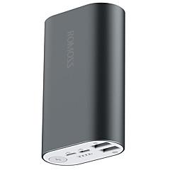 10000mAhbanque de puissance de batterie externe Sorties Multiples avec câble 10000 2100 Sorties Multiples avec câble