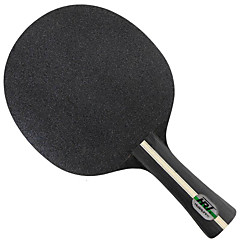 Table Tennis Rackets Ping Pang Wood Short Handle Pimples Performance Practise Leisure Sports