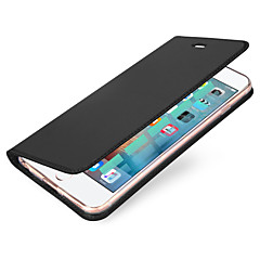 For Kortholder Flip Magnetisk Etui Heldækkende Etui Helfarve Hårdt Kunstlæder for AppleiPhone 7 Plus iPhone 7 iPhone 6s Plus/6 Plus