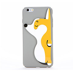 For DIY Case Hard PC Stick Three-dimensional Dog Back Cover Case for Apple iPhone 7 Plus iPhone 7 iPhone 6s Plus iPhone 6 Plus iPhone 6s iPhone 6