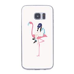 Για Εξαιρετικά λεπτή Με σχέδια tok Πίσω Κάλυμμα tok Σέξι κυρία Μαλακή TPU για Samsung S7 edge S7 S6 edge plus S6 edge S6 S5