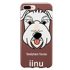 For IMD Case Back Cover Case Dog Soft TPU for  iPhone 7 Plus iPhone 7 iPhone 6s Plus 6 Plus iPhone 6s 6