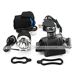 Stirnlampen LED 2000 Lumen 3 Modus Cree XM-L T6 18650Camping / Wandern / Erkundungen Für den täglichen Einsatz Radsport Jagd Reisen