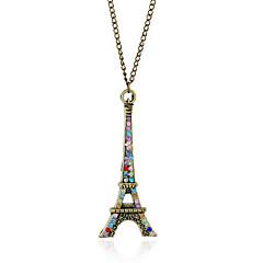 Dames Hangertjes ketting Diamant Strass imitatie Diamond Legering Sieraden Modieus Vintage Euramerican Bronzen SieradenFeest Speciale
