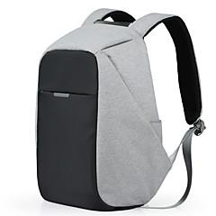multifunktionelle bærbar backpack17 tommer business rygsække afslappet rejse polyester poser vandtæt