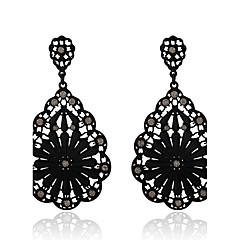 Dame Dråbeøreringe Krystal Boheme Stil kostume smykker Krystal Legering Geometrisk form Smykker Til Fest Daglig Afslappet