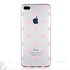 For Transparent Mønster Etui Bagcover Etui Geometrisk mønster Mosaik mønster Blødt TPU for AppleiPhone 7 Plus iPhone 7 iPhone 6s Plus