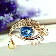 Γυναικεία Καρφίτσες Κοσμήματα Μοναδικό Εξατομικευόμενο Euramerican Κρύσταλλο Κράμα Κοσμήματα Κοσμήματα Για Πάρτι Καθημερινά Causal